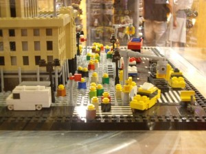 Empire State Lego street