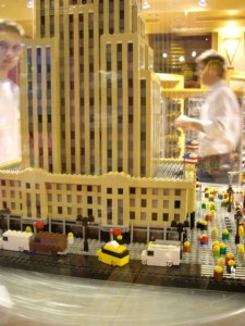 Empire State Lego close up